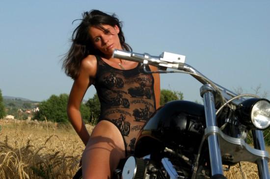 Motorradfotze